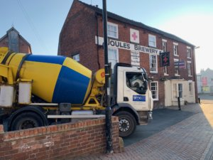 concrete truck in Market Drayton