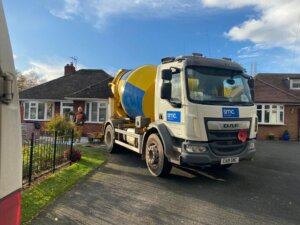 Domestic Ready Mixed Concrete Delivery